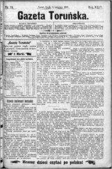 Gazeta Toruńska 1890, R. 24 nr 76