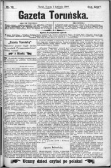 Gazeta Toruńska 1890, R. 24 nr 79