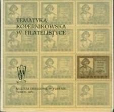 Tematyka Kopernikowska w filatelistyce : katalog
