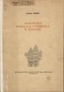 Domostwa Mikołaja Kopernika w Toruniu