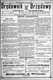 Orędownik Urzędowy powiatu Żnińskiego 1923.06.02 R.36 nr 42