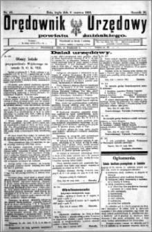 Orędownik Urzędowy powiatu Żnińskiego 1923.06.06 R.36 nr 43