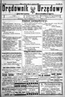 Orędownik Urzędowy powiatu Żnińskiego 1923.06.09 R.36 nr 44