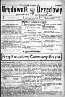 Orędownik Urzędowy powiatu Żnińskiego 1923.06.16 R.36 nr 46