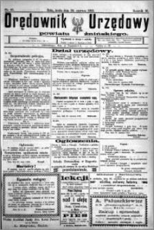 Orędownik Urzędowy powiatu Żnińskiego 1923.06.20 R.36 nr 47