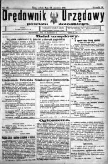 Orędownik Urzędowy powiatu Żnińskiego 1923.06.23 R.36 nr 48