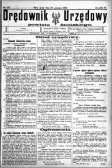 Orędownik Urzędowy powiatu Żnińskiego 1923.06.27 R.36 nr 49