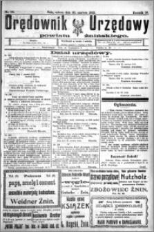 Orędownik Urzędowy powiatu Żnińskiego 1923.06.30 R.36 nr 50