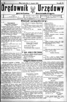 Orędownik Urzędowy powiatu Żnińskiego 1923.08.01 R.36 nr 59