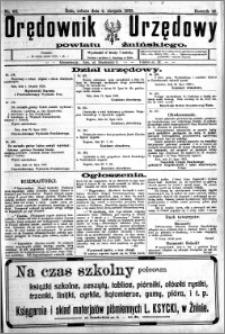 Orędownik Urzędowy powiatu Żnińskiego 1923.08.04 R.36 nr 60