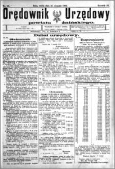 Orędownik Urzędowy powiatu Żnińskiego 1923.08.15 R.36 nr 63