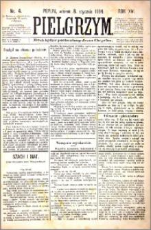 Pielgrzym, pismo religijne dla ludu 1884 nr 4