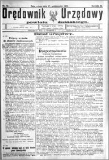 Orędownik Urzędowy powiatu Żnińskiego 1923.10.27 R.36 nr 84