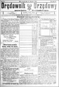 Orędownik Urzędowy powiatu Żnińskiego 1924.01.09 R.37 nr 2