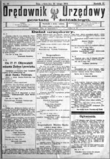 Orędownik Urzędowy powiatu Żnińskiego 1924.02.16 R.37 nr 13