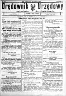 Orędownik Urzędowy powiatu Żnińskiego 1924.03.22 R.37 nr 23