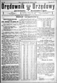 Orędownik Urzędowy powiatu Żnińskiego 1924.04.12 R.37 nr 29