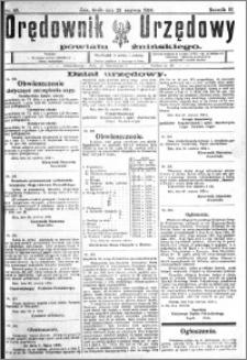 Orędownik Urzędowy powiatu Żnińskiego 1924.06.25 R.37 nr 48