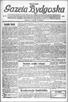 Gazeta Bydgoska 1922.08.10 R.1 nr 34