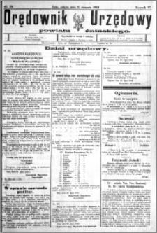 Orędownik Urzędowy powiatu Żnińskiego 1924.08.02 R.37 nr 59