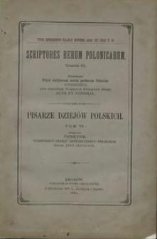 Pamiętnik Pierwszego Zjazdu Historycznego Polskiego imienia Jana Długosza, odbytego w Krakowie w czterechsetną rocznicę jego śmierci