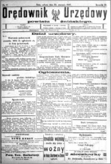 Orędownik Urzędowy powiatu Żnińskiego 1925.01.10 R.38 nr 2