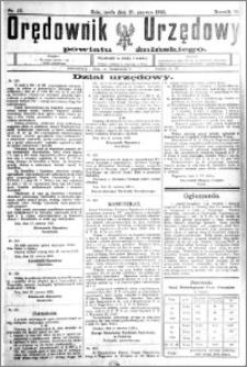 Orędownik Urzędowy powiatu Żnińskiego 1925.06.17 R.38 nr 45