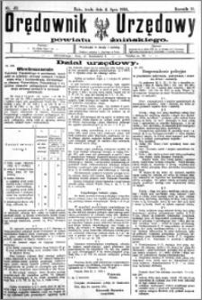 Orędownik Urzędowy powiatu Żnińskiego 1925.07.04 R.38 nr 49