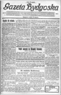 Gazeta Bydgoska 1922.08.18 R.1 nr 40