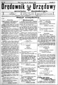 Orędownik Urzędowy powiatu Żnińskiego 1925.11.21 R.38 nr 89