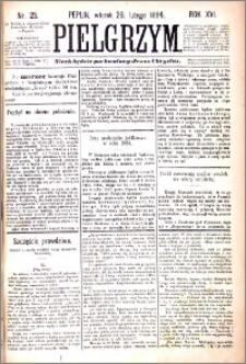 Pielgrzym, pismo religijne dla ludu 1884 nr 25