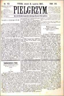 Pielgrzym, pismo religijne dla ludu 1884 nr 42