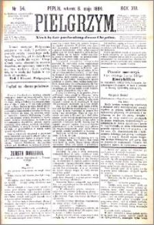 Pielgrzym, pismo religijne dla ludu 1884 nr 54