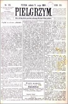 Pielgrzym, pismo religijne dla ludu 1884 nr 59