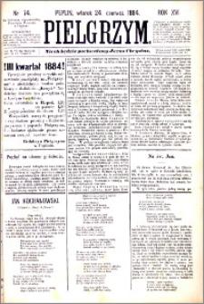 Pielgrzym, pismo religijne dla ludu 1884 nr 74