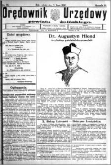 Orędownik Urzędowy powiatu Żnińskiego 1926.07.03 R.39 nr 50