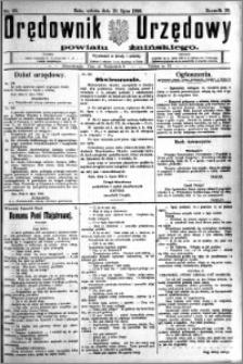 Orędownik Urzędowy powiatu Żnińskiego 1926.07.10 R.39 nr 52