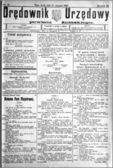 Orędownik Urzędowy powiatu Żnińskiego 1926.08.11 R.39 nr 61