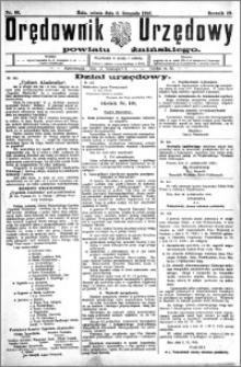 Orędownik Urzędowy powiatu Żnińskiego 1926.11.06.R.39 nr 86