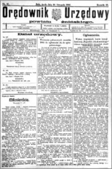 Orędownik Urzędowy powiatu Żnińskiego 1926.11.10.R.39 nr 87
