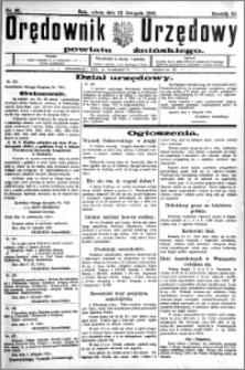 Orędownik Urzędowy powiatu Żnińskiego 1926.11.13.R.39 nr 88