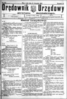 Orędownik Urzędowy powiatu Żnińskiego 1926.11.17.R.39 nr 89