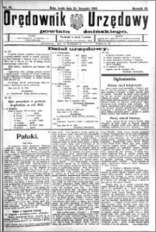 Orędownik Urzędowy powiatu Żnińskiego 1926.11.24.R.39 nr 91