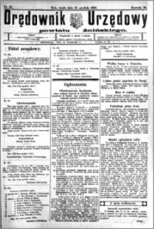 Orędownik Urzędowy powiatu Żnińskiego 1926.12.15.R.39 nr 97