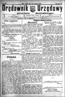 Orędownik Urzędowy powiatu Żnińskiego 1926.12.29.R.39 nr 101