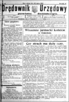 Orędownik Urzędowy powiatu Żnińskiego 1927.03.26 R.40 nr 25