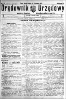 Orędownik Urzędowy powiatu Żnińskiego 1927.08.31 R.40 nr 67