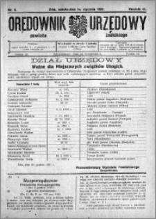 Orędownik Urzędowy powiatu Żnińskiego 1928.01.14 R.41 nr 3