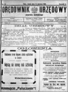 Orędownik Urzędowy powiatu Żnińskiego 1928.06.13 R.41 nr 41