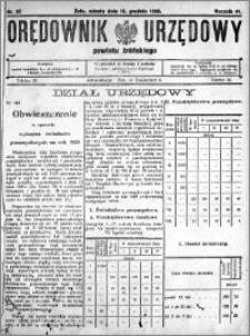 Orędownik Urzędowy powiatu Żnińskiego 1928.12.15 R.41 nr 92